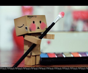 cute, danbo, and pink image