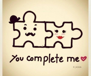 love, complete, and you image
