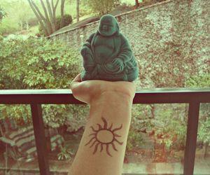 tattoo, Buddha, and indie image