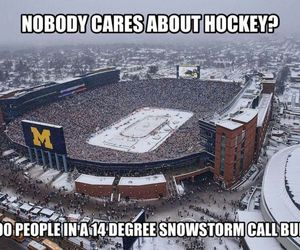 winter classic, hockey, and nhl image