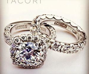 diamonds, rings, and stunning image