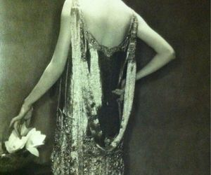 1920s, dress, and womens clothing image