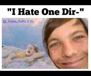 louis tomlinson, ❤️, and one direction image