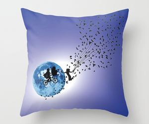 home decor, e.t.tv.movie, and fantasy art thorw pillow image