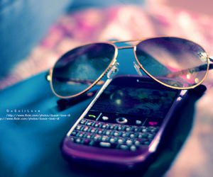 blackberry and glasses image
