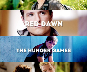 josh, hunger games, and red dawn image
