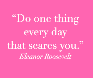 quotes, pink, and eleanor roosevelt image