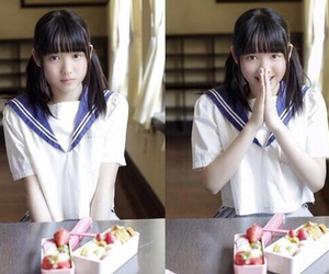 girl, かわいい, and 美少女 image