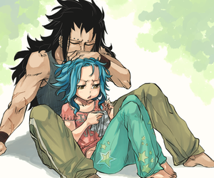 gale, gajeel, and fairy tail image