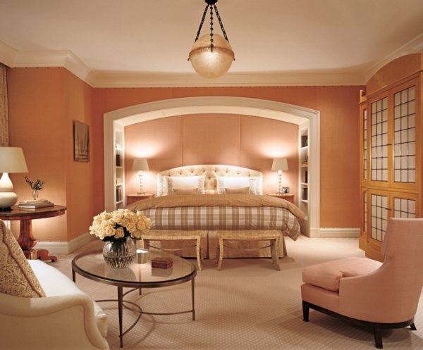 Marvelous Modern Style Pink White Bedroom Color Schemes ...