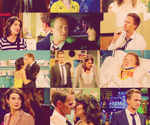 beautiful, how i met your mother, and couple image