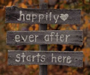 autumn, quotes, and happily ever after image