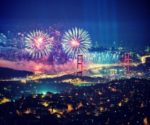firework, istanbul, and music image