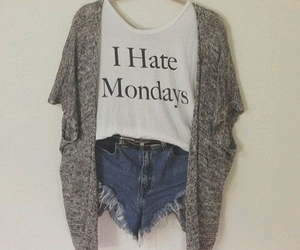 clothes, girl, and hate image