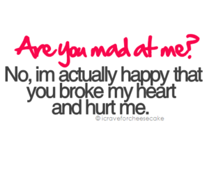 quote, mad, and hurt image