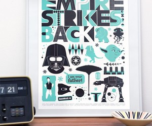 design, star wars, and typography image