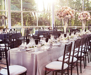 decor, dining, and wedding image