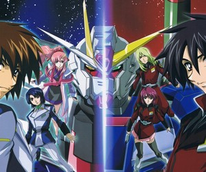 anime, kira yamato, and gundam seed destiny image