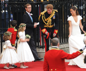 prince harry, royal wedding, and pippa middleton image