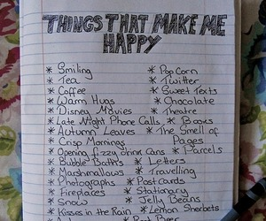 happy and list image