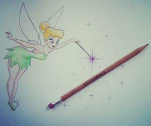 desenho, tinkerbell, and disney image
