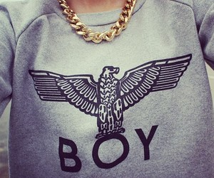 boy, fashion, and gold image