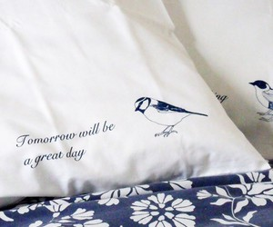 bed, detail, and text image