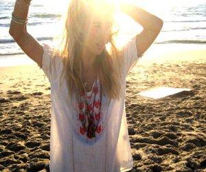 gillian zinser, beach, and summer image
