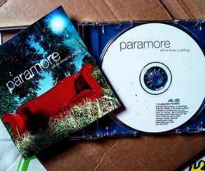 paramore, cd, and all we know is falling image