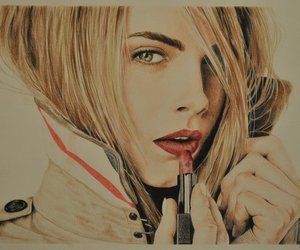 drawing, cara delevingne, and draw image