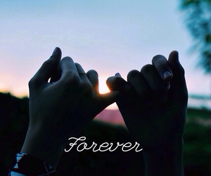 forever, with you, and friendship image