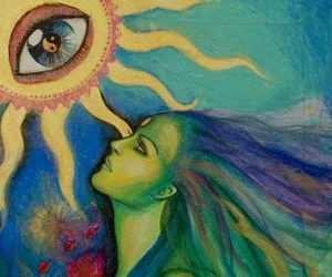 art and sun image