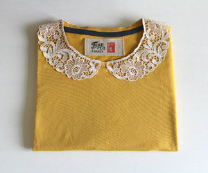 fashion, vintage, and yellow image