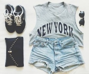 clothes, new york, and trends image