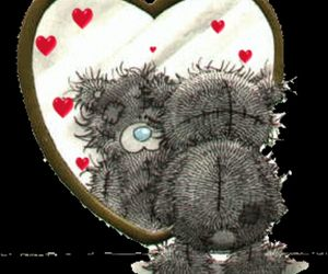 heart, lovely, and teddy image