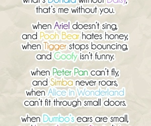 disney, love, and quote image