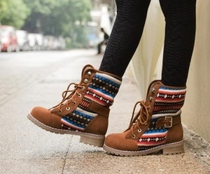 boots, fashion, and shoes image