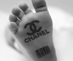 chanel, baby, and feet image