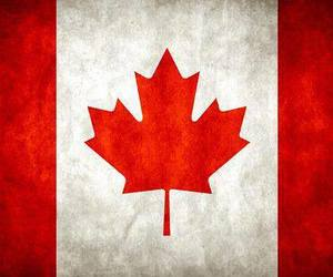 canada and flag image