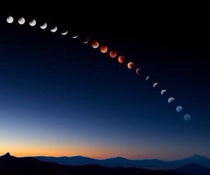 cool, photography, and moon image