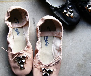 ballet, shoes, and studs image