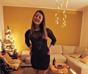dress, new, and me image