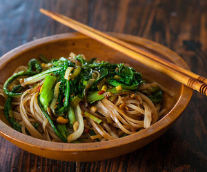 food, healthy, and noodles image