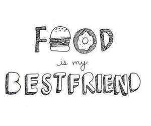 food and bestfriend image