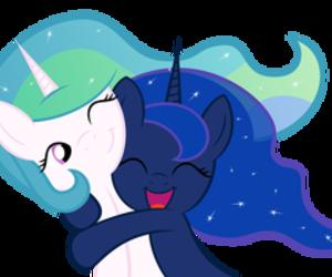 my little pony and celestia image