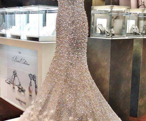 dress, luxury, and diamond dress image
