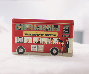 british, bus, and couple image