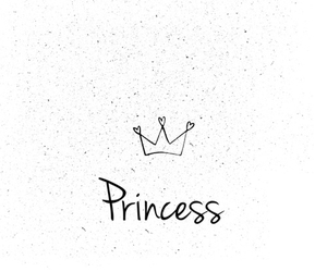 girl, princess, and love image