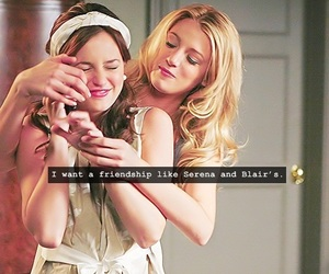 blair, gossip girl, and leighton image