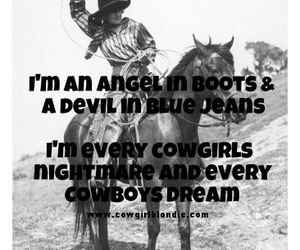 angel, Cowgirl, and Devil image
